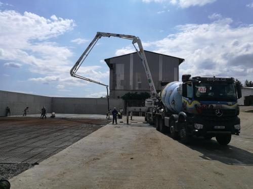 dodání betonu