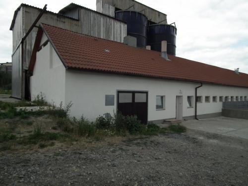 Novostavba výkrmny prasat hluboké